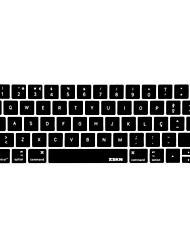 XSKN® Portuguese Silicone Keyboard Skin and Touchbar Protector for 2016 Newest MacBook Pro 13.3/15.4 with Touch Bar Retina Display  (US/EU Layout)