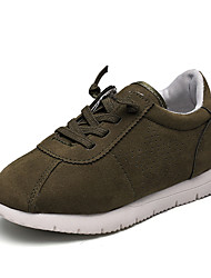 Sneakers Spring Summer Fall Comfort First Walkers Light Soles Canvas Outdoor Athletic Casual Low Heel Lace-up Green Pink Gray Walking