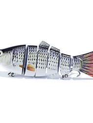 1 штук Воблер прогонистой формы Рыболовная приманка Воблер прогонистой формы Черный Белый г/Унция мм дюймовый Обычная рыбалка
