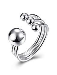 Ringe Hochzeit Party Besondere Anlässe Alltag Normal Schmuck Sterling Silber Ring 1 Stück,8 Silber