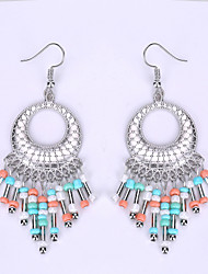The European And American Fashion Disc Tassel Earrings Big Earrings Restoring Ancient Ways Exotic Act The Role Ofing Is Tasted