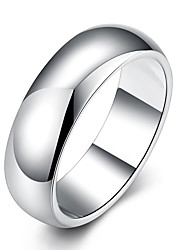 Silver Color Stainless Steel Men's Fashion Man Ring Cool Man's High Polished Man's Wedding Ring Size 7 8 9 LKNSPCR025