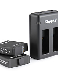 KingMa® Chargeur batterie For Gopro Hero 5 Plongée Vélo