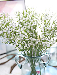Set of 6 Wedding Babysbreath Flowers Bouquets for Lady Eco-friendly Material Wedding Decorations-Non-personalized