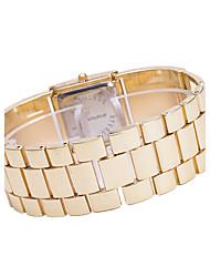Женские Модные часы Кварцевый сплав Группа Люкс Золотистый Золотой