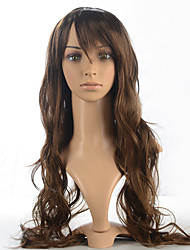 Capless Water Wavy Wig Women Wig Synthetic Fiber Wig Costume Women Wig Heat Resistant Wig