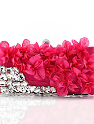 L.WEST Women's fashion flowers dinner evening bag hand bag bride
