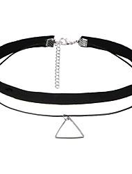 8pcs/set Necklace Europe Collar Fashion Short Black Necklace Choker Necklace