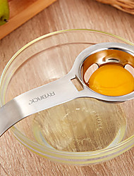 RYBACK Stainless Steel Egg White Yolk Filter Separator Cooking Tool Dishwasher Safe Chef Kitchen Gadget