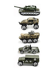 Военная техника Playsets автомобиля 1:64 Металл Пластик Радужный