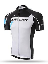 XINTOWN®  Men's Cycling Clothing Short-sleeved Shirt Quick-Dry Bike Team Jersey Outdoor Cute Cycling Wear