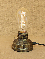 Personality Simple Retro American Restaurant Bedside Bedroom Study Industrial Wind Desk Lamp