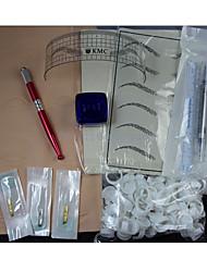 kits de tatouage pour débutants 1 machine de tatouage x alliage pour la doublure et l'ombrage Alimentation sans fil10 x Aiguilles de