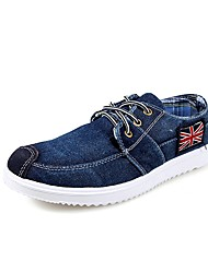 Men's Sneakers /Young Style/New/Canvas/Comfort/Casual Flat Heel/Lace-up/Blue/Walking