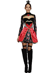 adult Alice In Wonderland cosplay costumes Queen of hearts costume women Female Fairytale  Clothes Deguisement halloween costumes for women