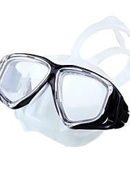 Diving Masks Diving Packages Swimming Goggles Waterproof 180 Degree View Diving / Snorkeling Swimming silicone