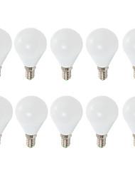 7W E14 E26/E27 Ampoules Globe LED G45 6 SMD 2835 680 lm Blanc Chaud Blanc Froid Décorative AC 100-240 V 10 pièces