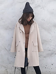 знак пятна весны и осень новой длинное пальто женского пальто-