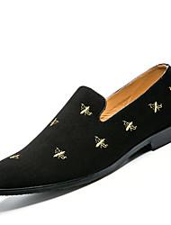mocassins de moda masculina&Deslizamento-ons sapatos casuais pé jovens plana vento chinês sapatos máscara da ópera