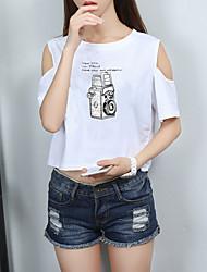 определить реальный выстрел корейской версии весной и летом женщин&# 39; s бретелек футболка женский студент был тонкий рыхлый