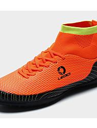 Athletic Shoes Spring Summer Fall Light Soles PU Athletic Flat Heel Blue Green Orange Soccer