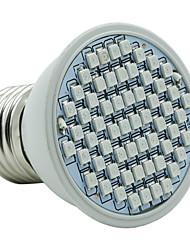 4W E27 LED Aufzuchtlampen 60 SMD 3528 1500-1800 lm Rot Blau V 1 Stück