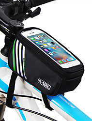 Bicycle Bag Mountain Bike Phone Bag Shangguan Package Front Beam Package Riding Equipment Random Color