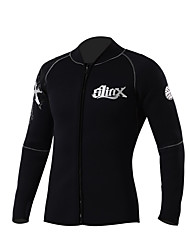 SLINX® Men's 5mm Wetsuits Dive Skins Waterproof Breathable Thermal / Warm Quick Dry Windproof Memory Foam Tactel Coolmax Diving SuitLong