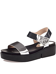 Women's Sandals Summer Slingback Creepers Comfort PU Glitter Leatherette Wedding Outdoor Office & Career Party & Evening Dress Casual