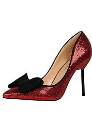 Women's Stiletto Heels/Wedding Dress/Comfort/Party & Evening Dress/Bowknot /Red/Silver/Gold/Rose Pink