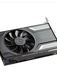 EVGA Video Graphics Card GTX1060 EVGA GTX1060 SC 6G ACX 2.0 DVI-D+HDMI+3DP 1607MHz/8008MHz6GB/192 bit