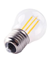 4W E27 Ampoules à Filament LED G45 4 COB 360 lm Blanc Chaud Blanc Froid Gradable Décorative AC 100-240 V 1 pièce