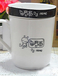 Lovely Cute Rabbit Cartoon Ceramic Coffee Cup Mug Wonderful gift  Random Color