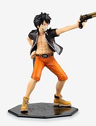 Figures Animé Action Inspiré par One Piece Monkey D. Luffy PVC 22 CM Jouets modèle Jouets DIY