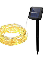 12M 100 LEDs 300LM Solar LED String Light Led Security Light