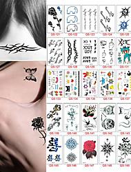 30 style Temporary Tattoo Body Art  Flash Tattoo Sticker Waterproof