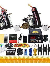 Solong Tattoo Complete Tattoo Kit 2 Tattoo Machine Guns Set Needle Grip TK227