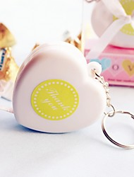 Heart Tape Measure Key Chain Beter Gifts® Bridal Shower Favor