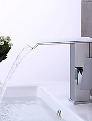 Bathroom Sink Faucet Chrome BronzeBrass Single Handle Centerset Faucet