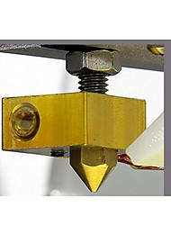 3D Printer Extrusion Head (Nozzle  Hose  Aluminum  Heating Tube  Thermistor) Anet Extrusion Head