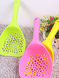 The New Pet Cat Litter Shovel Shovel Shovel Oversized Round Pick Up Dog And Cat Toilet Cleaning Supplies