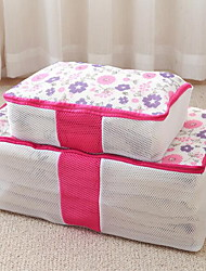 Storage Boxes Storage Bags Storage Units Textile withFeature is Open  For Underwear Cloth Quilts Travel Bag 2pcs