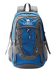 30 L Randonnée pack Camping & Randonnée Voyage Bande réfléchissante Etanche Sac de cruche intégré Vestimentaire Respirable Nylon CAMEL