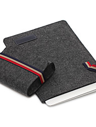"Sleeve for Macbook 13"" Macbook Air 11"" Solid Color Textile Material Simple Leisure Style Notebook Bag Solid Color"