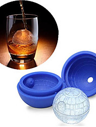 Silicone Ice Cube Tray Mold Cookies Chocolate Soap Baking Mould DIY Random Color