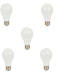 5pcs 5w e27 12xsmd5630 600lm водить глобуса лампы Светодиодные лампочки (220)