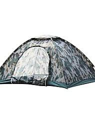3-4 Personen Zelt Einzeln Familien Zelte Einzimmer Camping Zelt PolyesterWandern Camping Reisen Draußen