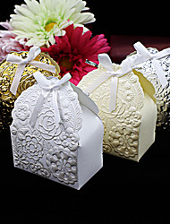 25pcs/lot Rose Flowers Wedding Candy Box Chocolate Box Wedding Party Decorations