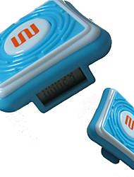 Tour de taille Pédomètres Affichage LCD Batterie ABS