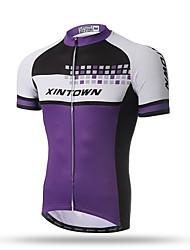 XINTOWN® Bike Riding Mens Jersey Cycling Shirt Road Bicycle Short Sleeve Tops Wear Cools